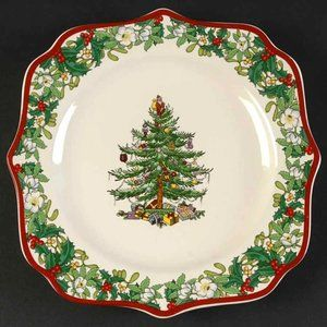 Spode 70th Anniversary Christmas Tree Plate